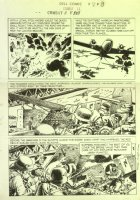 Combat #11 p.08 D-Day War Story LA Comic Art