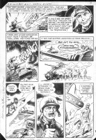 G.I. Combat #251 p.7 Haunted Tank Battle Action! Comic Art