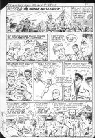 G.I. Combat #251 p.9 Haunted Tank Part Two: Human Bottleneck! Comic Art