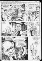 G.I. Combat #253 end pg. Haunted Tank does good, Mickey Mouse Comic Art