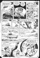 G.I. Combat #253 p.5 Haunted Tank  Comic Art