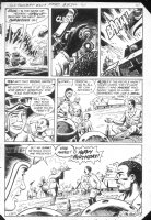 G.I. Combat #257 p.9 end pg. Haunted Tank Battle! Comic Art