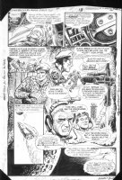 G.I. Combat #282 p.18 Sci-Fi War Story Spaceships Comic Art