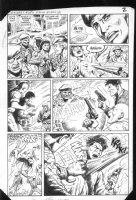 G.I. Combat #282 p.2 Mercenaries/Kidnapping Comic Art