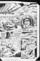 G.I. Combat #283 p.5 (b) Sci-Fi War Comic Art