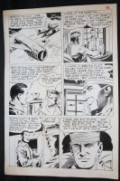 Fight the Enemy #3 p.36 - LA - 'The Young Ones' End Page - 1967 Comic Art