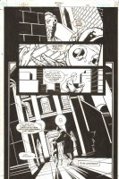 Batman #593 p.22 - Cool Alien End Page - 2001 Signed Comic Art