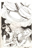 Grimm Fairy Tales #102 Cover - 2014 Signed Comic Art