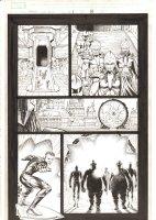 X-Men: The End #1 p.8 - Slipstream Action - 2004 Comic Art