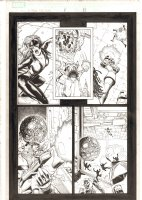 X-Men: The End #1 p.11 - Aliyah Bishop vs. Siryn - 2004 Comic Art