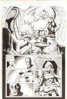 X-Men: The End #9 p.16 - Jean Grey, Nightcrawler, Slaver, and Lilandra - 2004 Comic Art