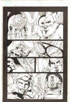 X-Men: The End #9 p.17 - Slaver, Lilandra, and Deathbird - 2004 Comic Art
