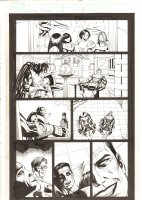 X-Men: The End #10 p.18 - Mr. Sinister and Gambit have a Drink - 2005 Comic Art