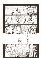 X-Men: The End #14 p.6 - Professor Xavier, Lilandra, their son Xavi, and Cassandra Nova - 2006 Comic Art