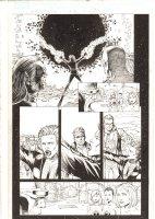 X-Men: The End #14 p.10 - Cyclops, Beast, Iceman, and Polaris - 2006 Comic Art