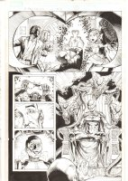 X-Men: The End #14 p.12 - Cassandra Nova Revealed as the Big Bad, Impostering as Lilandra - Professor Xavier, Jean Gray, & Misty Knight Flashback - 2006 Comic Art