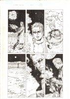 X-Men: The End #14 p.21 - Polaris dies in Iceman's Arms - 2006 Comic Art