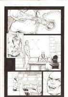X-Men: The End #15 p.11 - Cassandra Nova Imprisons Professor Xavier's Mind - 2006 Comic Art