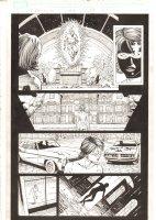 X-Men: The End #15 p.20 - Marvel Girl Rachel Summers in the Telepathic Plane - 2006 Comic Art