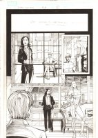 X-Men: The End #16 p.2 - Kitty Pryde in Chicago - 2006 Comic Art