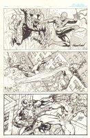 Venom vs. Spider-Man - Three Tier Commissions - 2006 Signed Comic Art