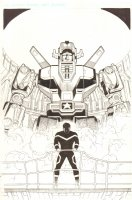 Voltron #9 Cover - 2012 Signed Comic Art