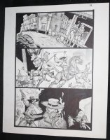 Fistful of Blood #1 p.12 - Blondie and Hollywood Western - Written by Kevin Eastman - 2002 Comic Art
