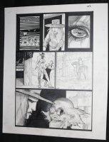 Fistful of Blood #1 p.22 - Blondie in Ghost Town - Written by Kevin Eastman - 2002 Comic Art