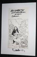 Elizabeth Vinlemtelli Lost City - Signed Comic Art