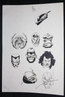 9 Character Portraits  Comic Art