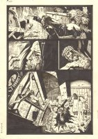 Four Horsemen of the Apocalypse p.2 - Crying out in front of Jesus - 2008 Signed Comic Art