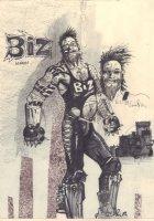 ''Biz as Himself'' Self Portrait - Signed  Comic Art