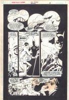 Six Flags: Batman p.4 - Batman vs. the Riddler  Comic Art