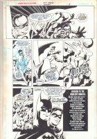 Six Flags: Batman p.5 - Batman & Robin vs. the Riddler  Comic Art