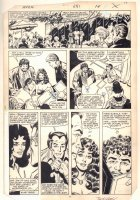 Avengers #251 p.10 - Wanda, Starfox, and Hercules at Tavern on the Green - 1985 Comic Art