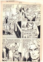 Avengers #252 p.3 - Doc Samson, Starfox, and Vision - 1985 Signed Comic Art