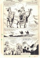 Ka-Zar the Savage #23 p.24 - Ka-Zar and Ramona Starr of A.I.M. on Camel - 1983 Comic Art