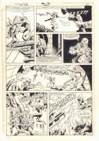 Ka-Zar the Savage #24 p.20 - Evil Scientist Shreiber Shoots Ramona Starr of A.I.M. - 1983 Comic Art