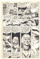 Weird War Tales #108 p.7 - Creature Commandos Frankenstein's Monster - 1982 Comic Art