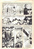 West Coast Avengers #3 p.16 - The Shroud, Wonder Man, and Tigra - 1984 Signed Comic Art