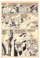 Avengers #214? p.10 - Ghost Rider Attacks Warren and Candy - 1981 Comic Art