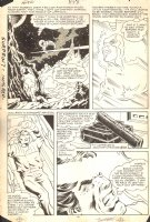 Avengers, The #253 pg.20 - Captain Marvel Flying Comic Art