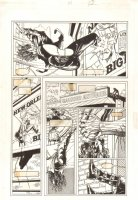 Shadowman #31 p.12 - Shadowman Swinging - 1994 Comic Art