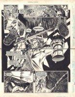 Midnight Sons Unlimited #7 pgs. 42 & 43 - Jonas Cray (1662's Blade) DPS - 1994 Comic Art