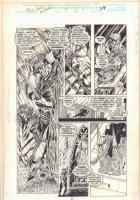 Midnight Sons Unlimited #7 p.39 - Blade in the Rain - 1994 Comic Art