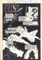 Midnight Sons Unlimited #7 p.46 - Vampire Kill - 1994 Comic Art