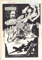 Midnight Sons Unlimited #7 p.47 - Vampire Action - 1994 Comic Art