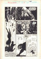 Midnight Sons Unlimited #7 p.48 - Crazy Action - 1994 Comic Art