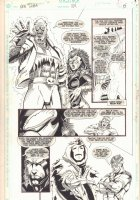 The New Titans #104 p.5 - 1993 Comic Art