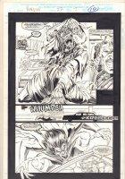Morbius: The Living Vampire #22 p.10 - Morbius Chases Randolph - 1994 Comic Art